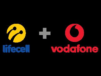 Парные номера Vodafone + Lifecell